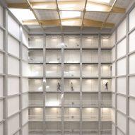 Concrete grid forms student housing block in Paris by Atelier Villemard et Associé