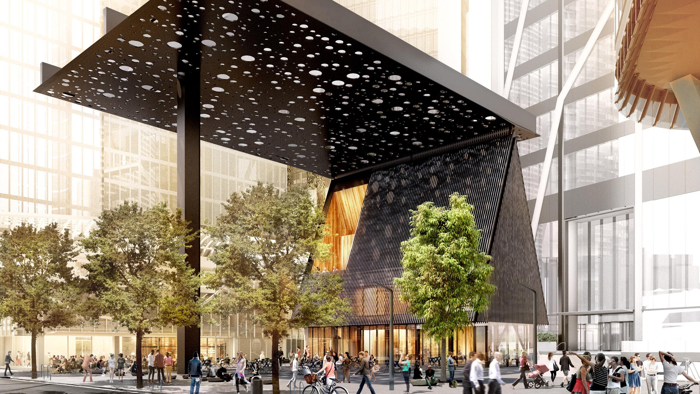 David Adjaye Designs Sydney Plaza To Evoke Aboriginal Paintings