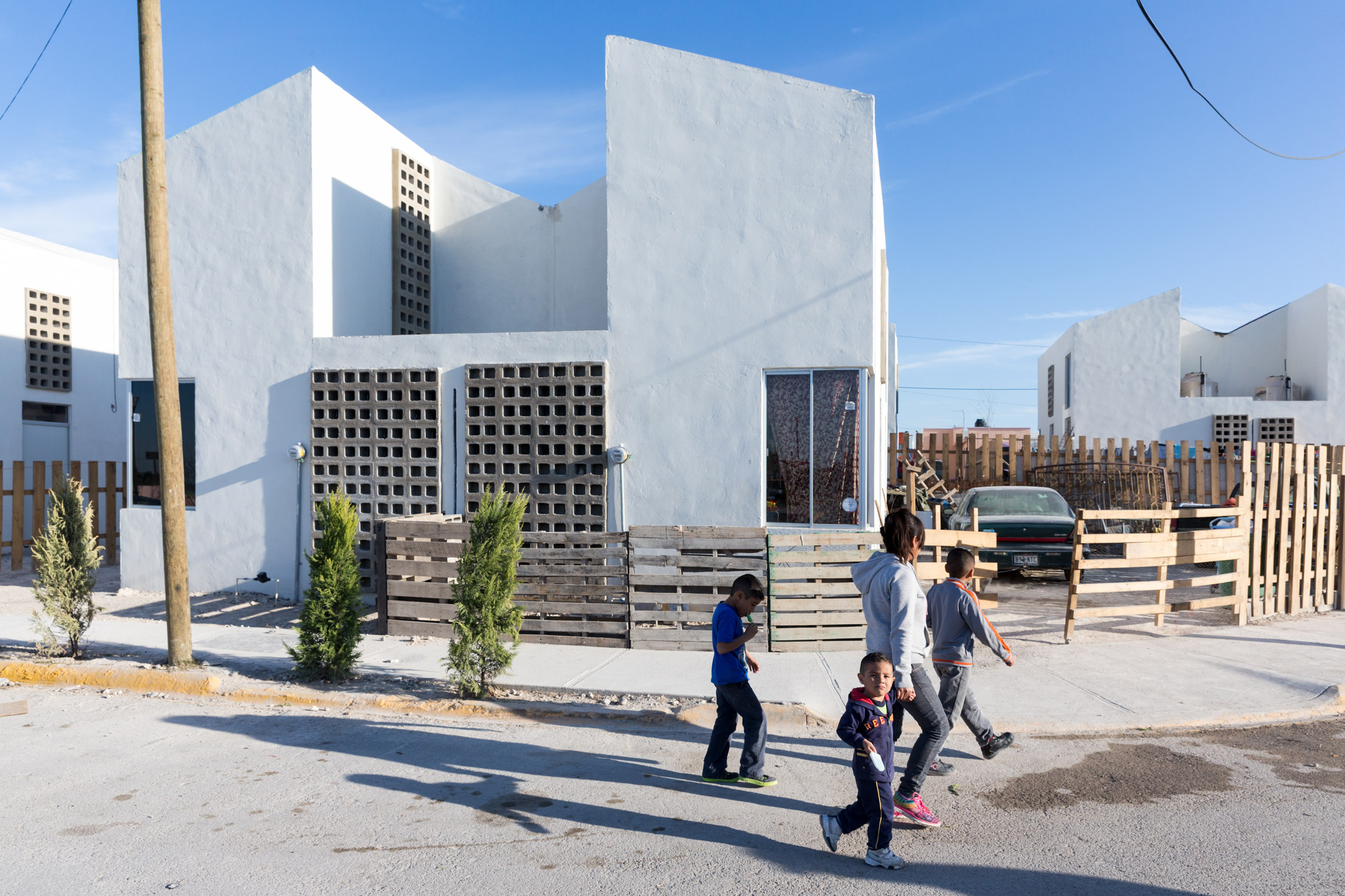 Acuña Housing by Tatiana Bilbao Estudio