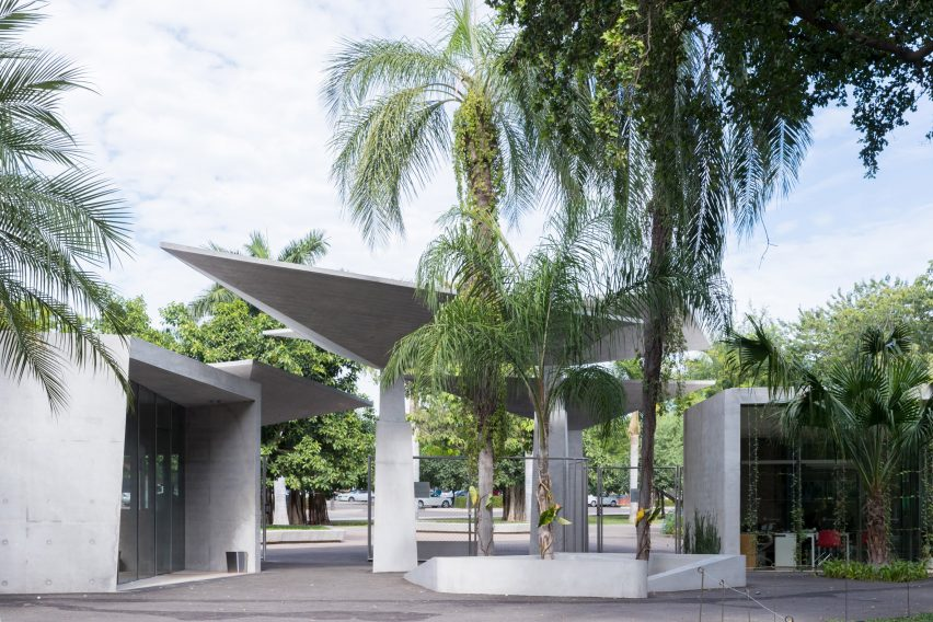 Culiacan Botanical Garden by Tatiana Bilbao Estudio. Photo is by Iwan Baan