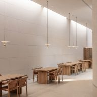 TEA Community Centre by Waterfrom Design dining space
