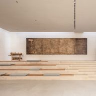 TEA Community Centre by Waterfrom Design lecture space