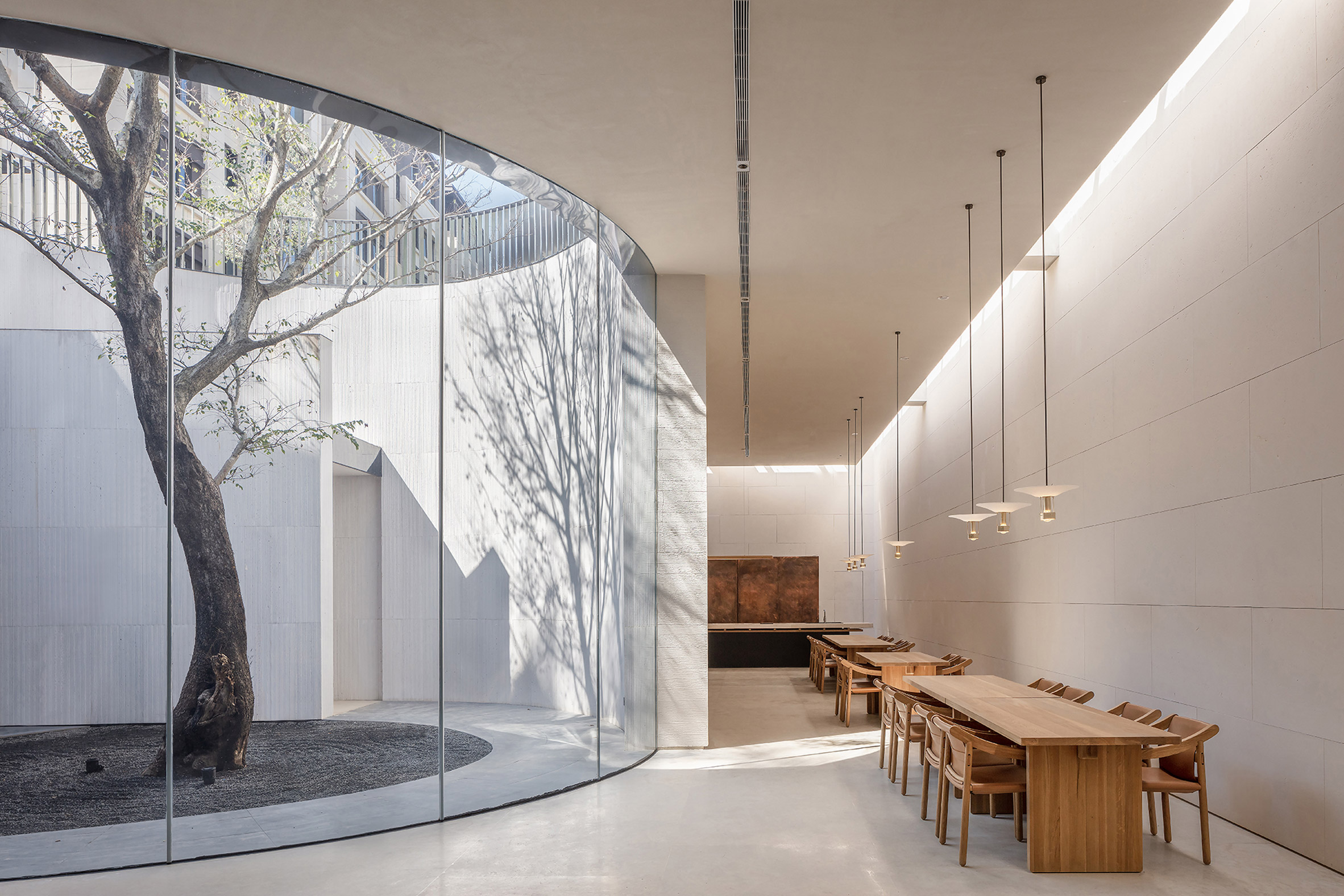 TEA Community Centre by Waterfrom Design basement