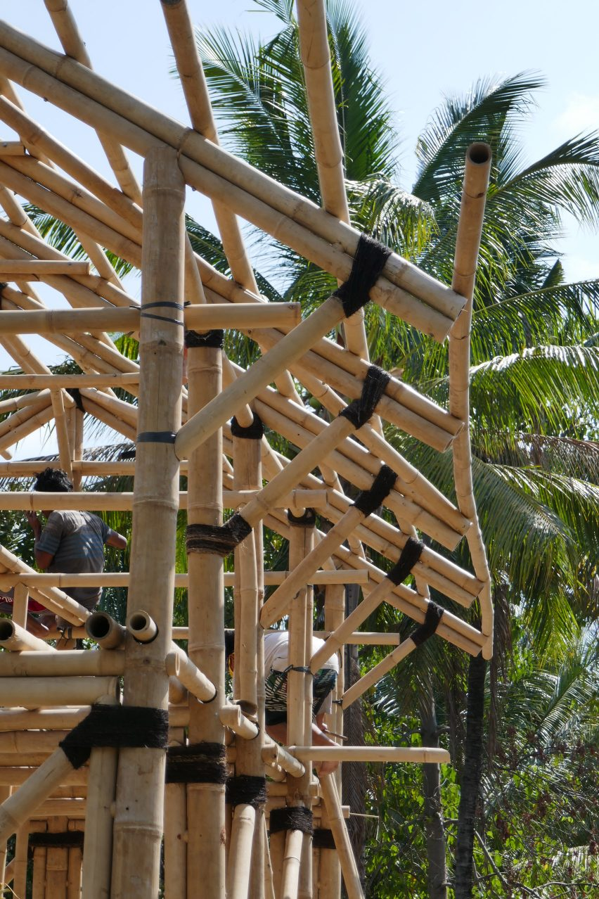 Earthquake-resistant template houses in Lombok, Indonesia by Ramboll