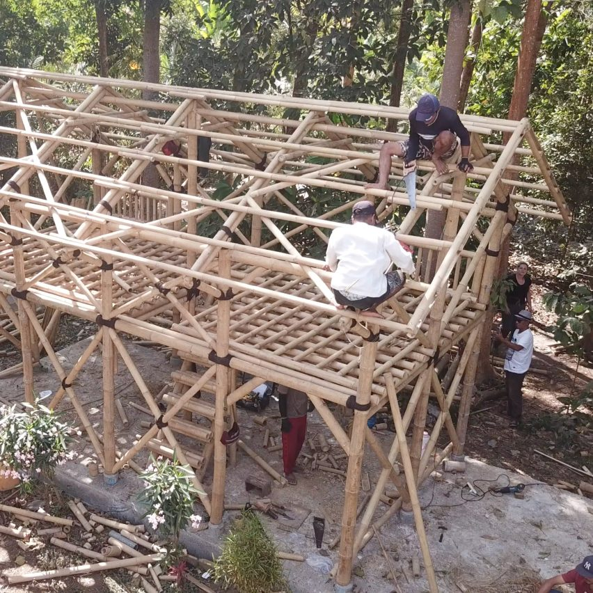Ramboll uses bamboo to build earthquake-resistant housing in Indonesia