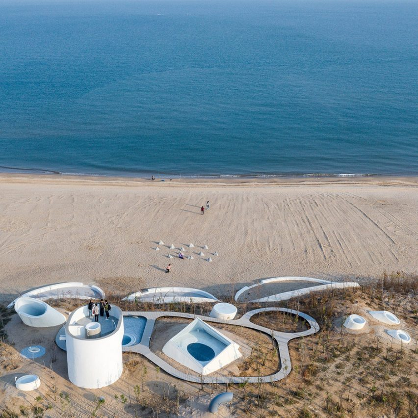 Dezeen's top 10 Chinese architecture projects of 2019: UCCA Dune Art Museum, Qinhuangdao, by Open Architecture