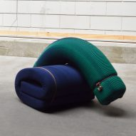 Floor Skrabanja designs 3D-knitted furniture without staples or stitches