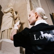 Virgil Abloh creates Off-White streetwear collection for the Musée du Louvre