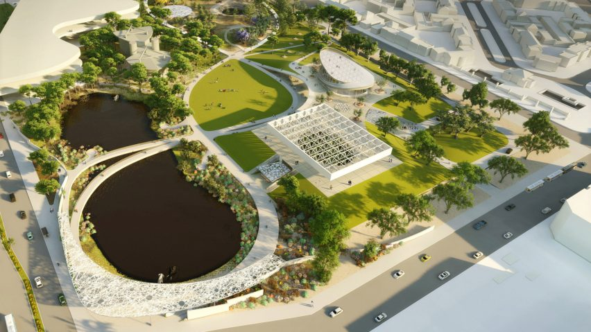 Weiss Manfredi wins competition to redevelop La Brea Tar Pits
