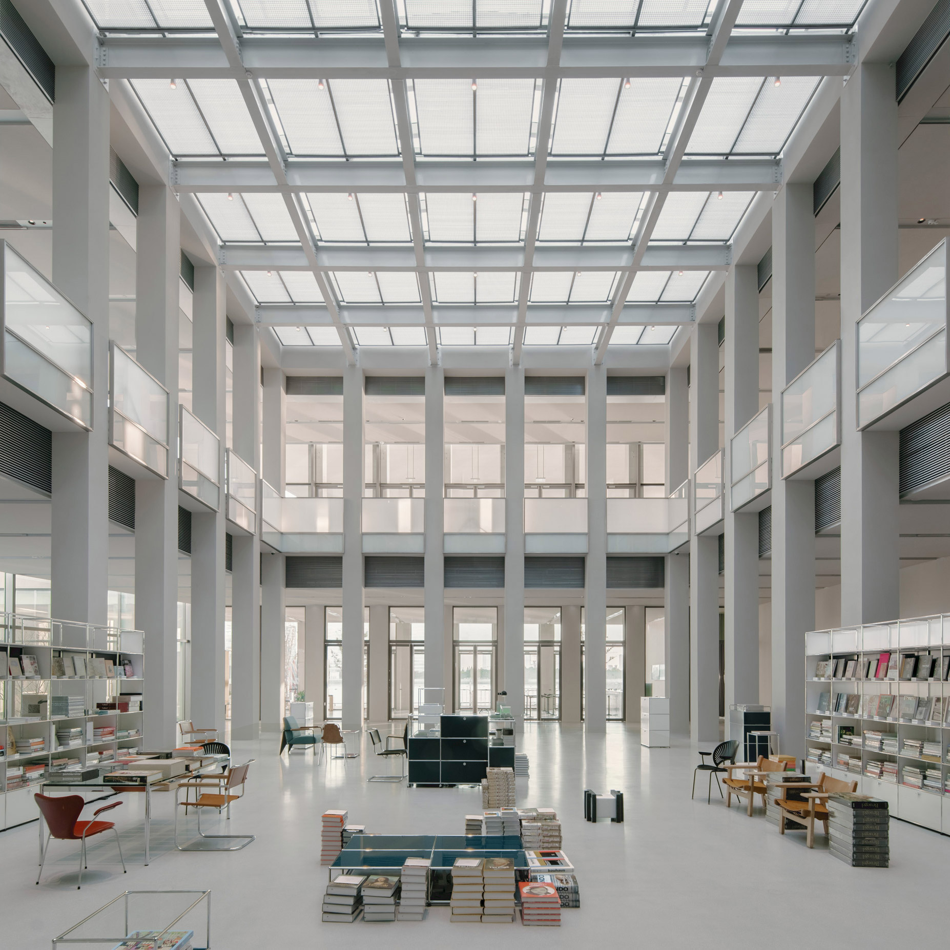 Dezeen's top 10 Chinese architecture projects of 2019: West Bund Museum, Shanghai, by David Chipperfield Architects