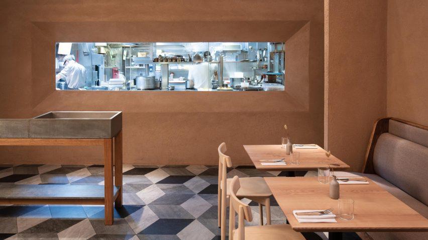 Kirkwood Mccarthy Creates Interior For Terence Conran Restaurant
