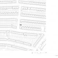 Site plan of Windsor Road outbuilding house by Russell Jones