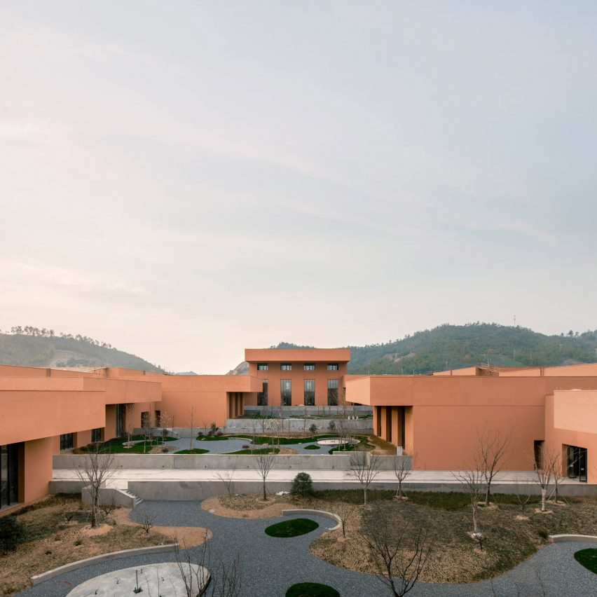Dezeen's top 10 Chinese architecture projects of 2019: Zhejiang Museum of Natural History, Anji, by David Chipperfield Architects