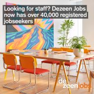 Dezeen Jobs now has over 40,000 jobseeker accounts!