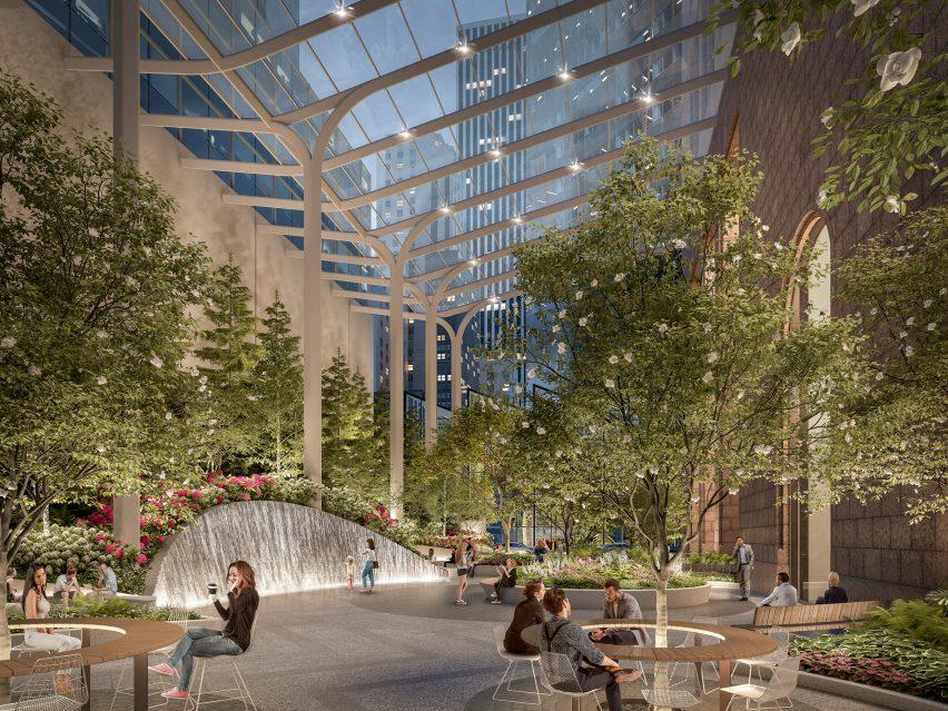 550 Madison garden by Snohetta
