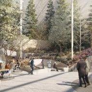 Snøhetta gets go ahead for public garden at Phillip Johnson's AT&T building