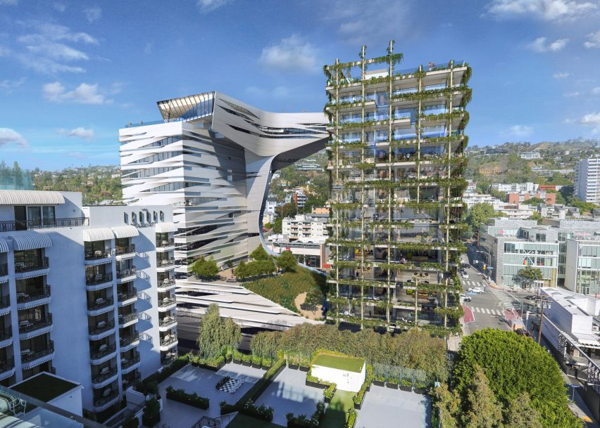 8850 Sunset Blvd by Morphosis