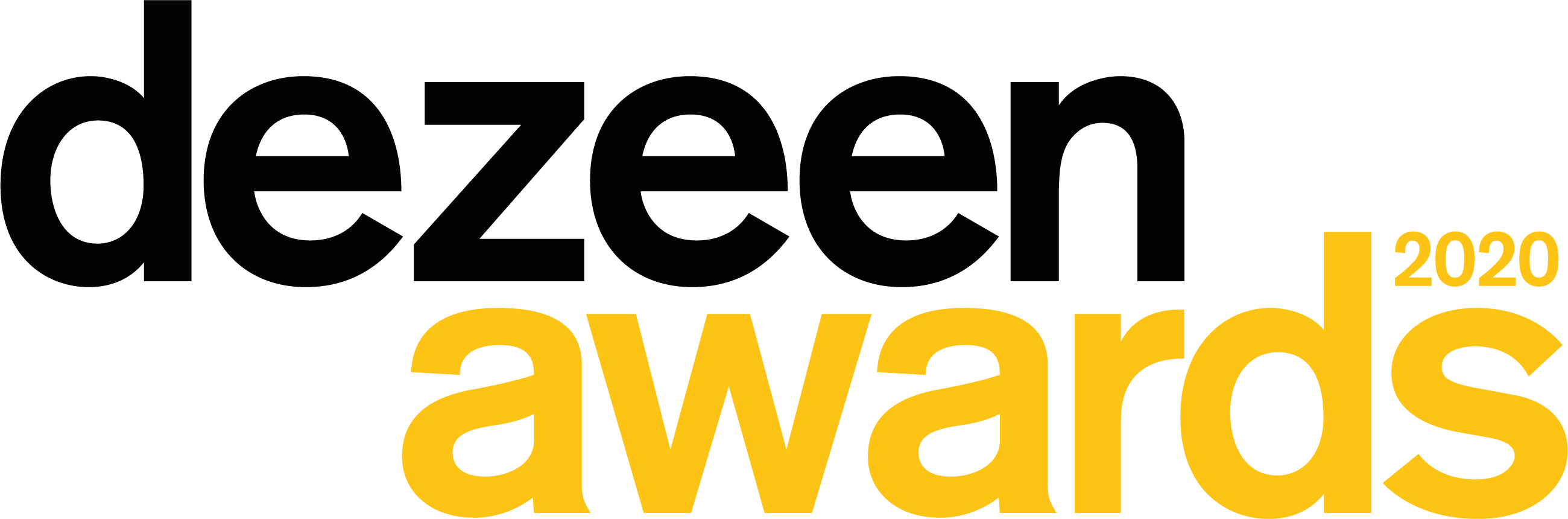 Dezeen Awards 2020 logo