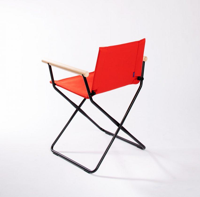 Prop chair Samuel Wilkinson
