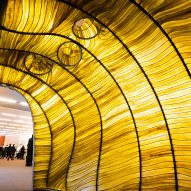 Julia Lohmann brings seaweed pavilion to Davos as climate-change warning
