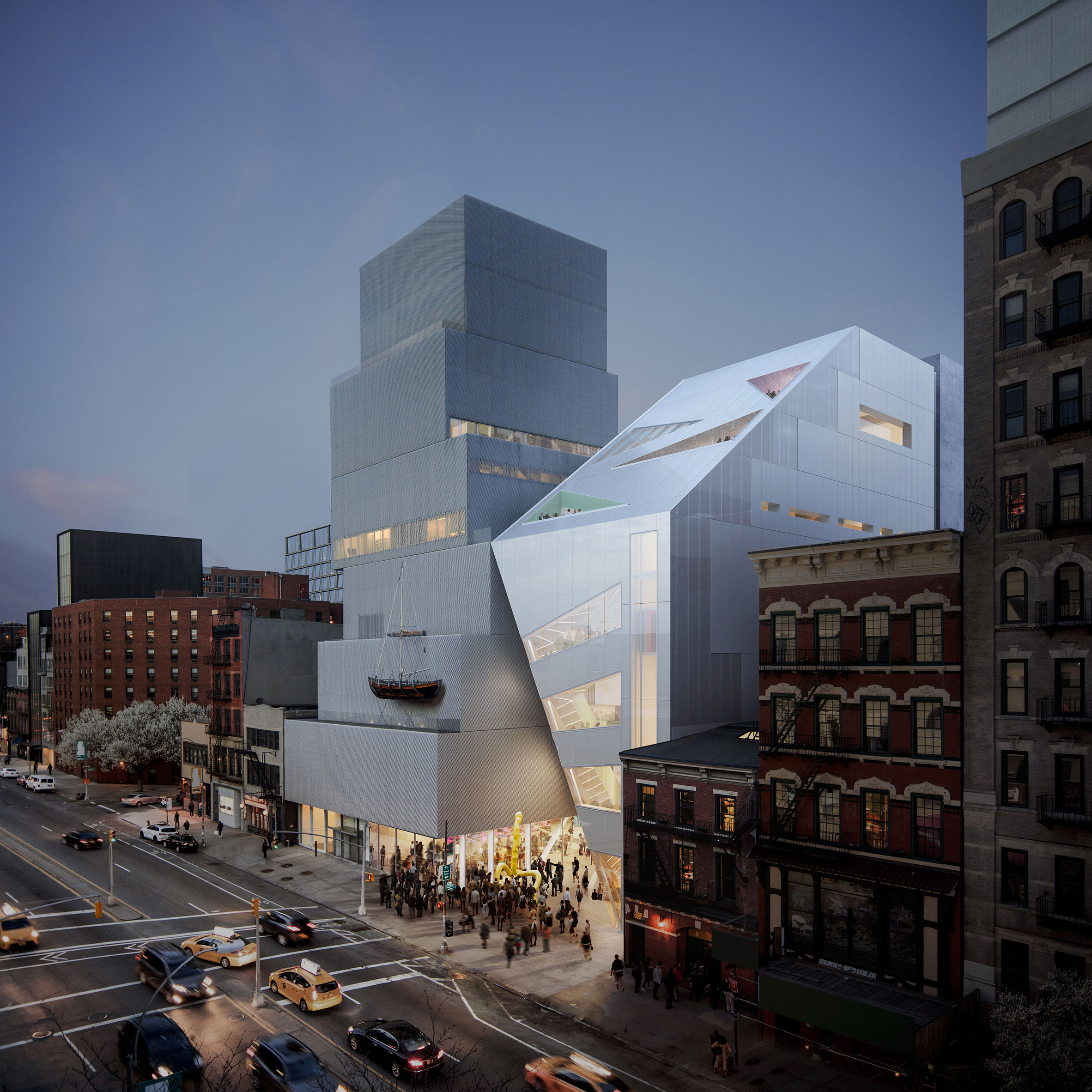 The New Museum by OMA New York