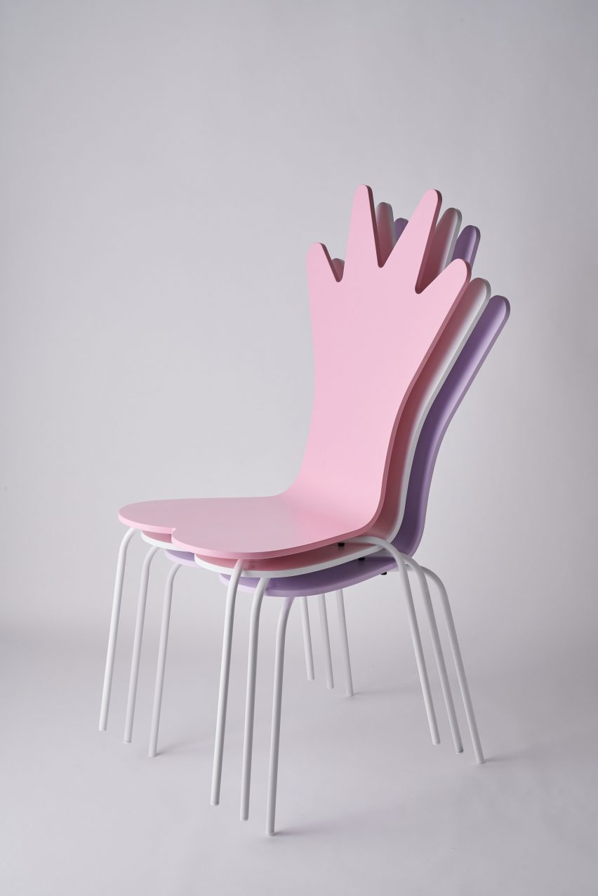 PHaB1&2 cafe chairs by Adam Nathaniel Furman