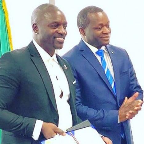 Akon finalises deal to create his own Akon City in Senegal