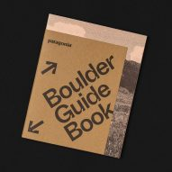 Boulder city guide by Cast Iron Design made with ink derived from algae
