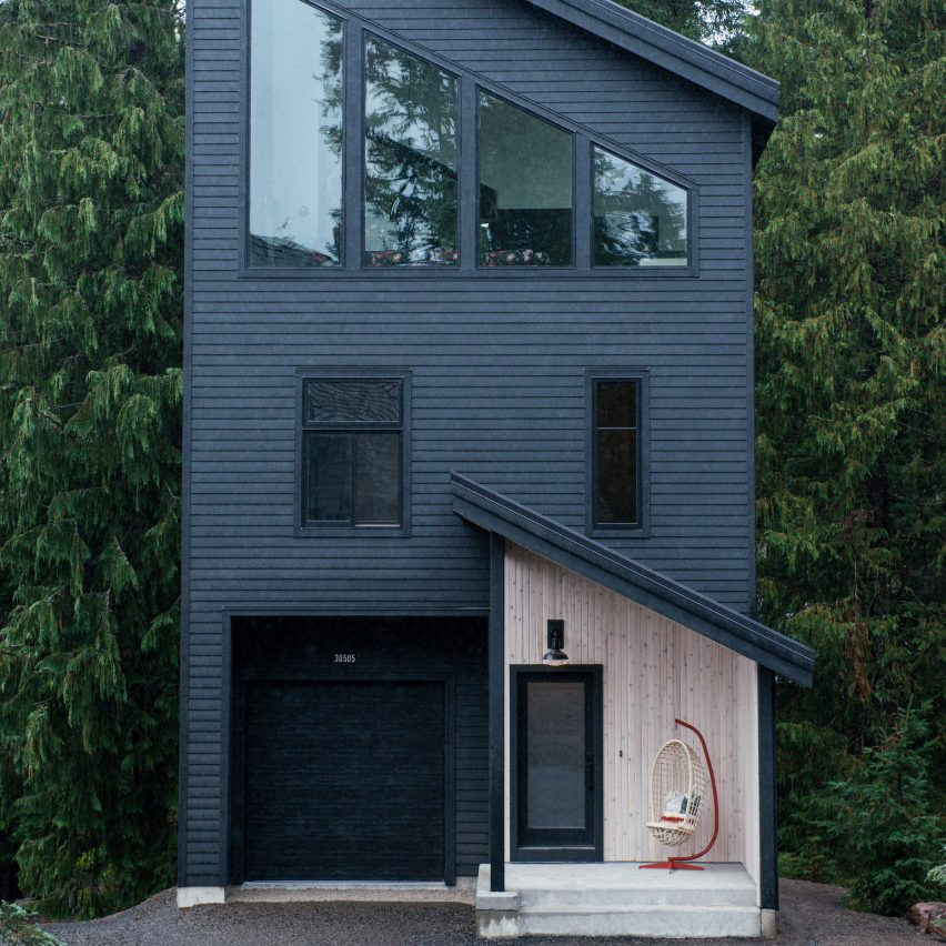 Alpine Noir Chalet by Keystone and Casework