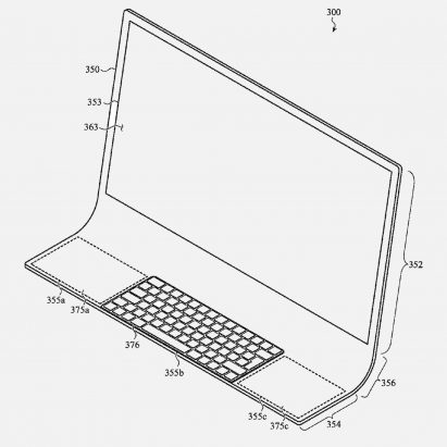 Apple patents iMac housed in single sheet of curved glass