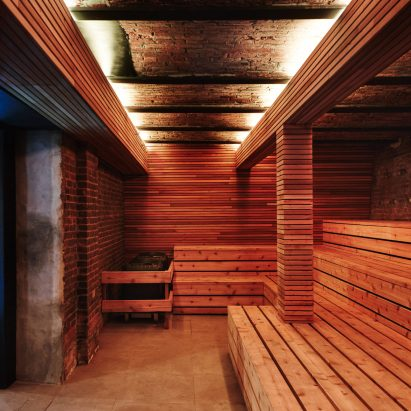 New York bathhouse by Verona Carpenter Architects Verona Carpenter Architects