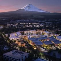 BIG and Toyota reveal plans for city of the future under Mount Fuji in Japan