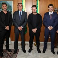 "Bjarke Ingels meets Brazil's president Jair Bolsonaro to ""change the face of tourism in Brazil"""
