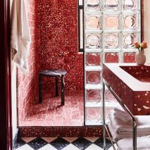 Bold bathrooms: The Siren Hotel by ASH NYC