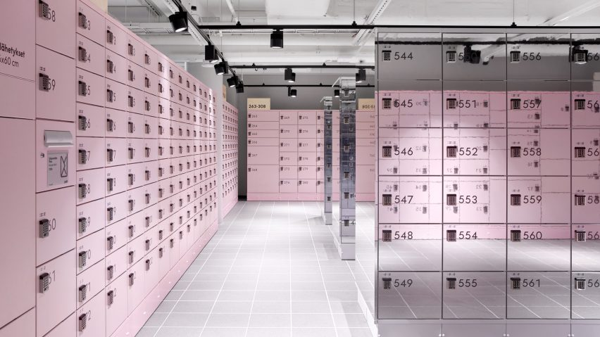 "Box in Helsinki is designed to be the ""perfect"" place to pick up online orders"