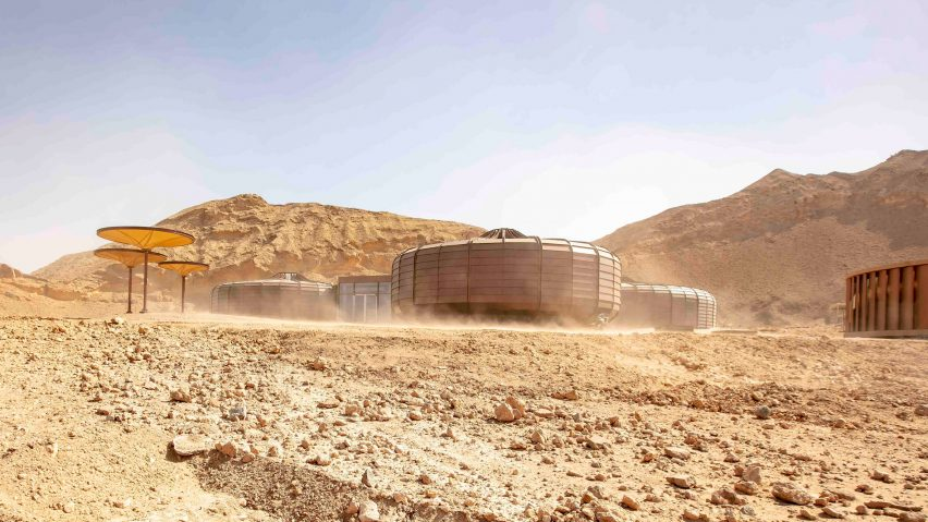 Hopkins Architects completes Buhais Geology Park, Sharjah, UAE