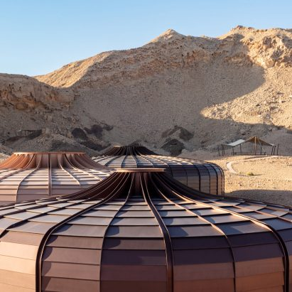Hopkins Architects completes Buhais Geology Park, Sharjah, UAE
