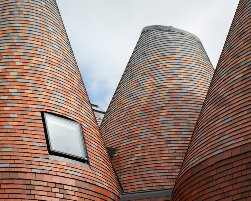 Bumpers Oast house by ACME roof