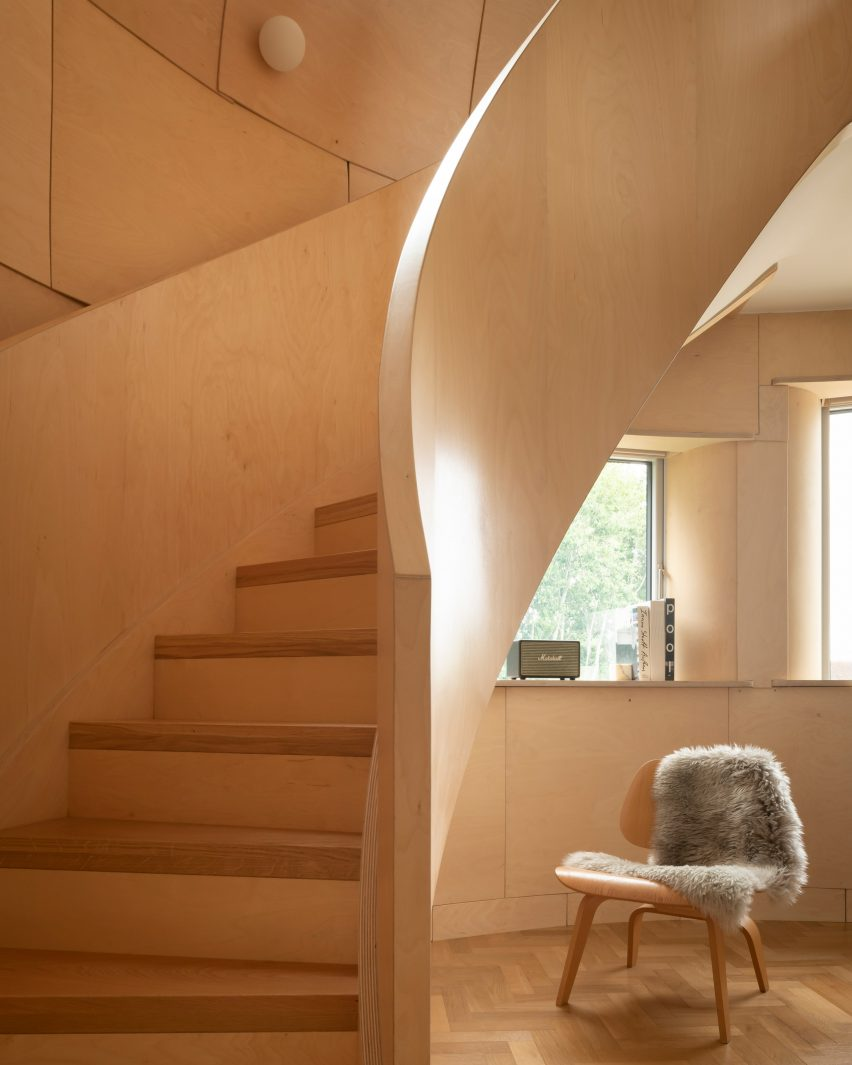 Bumpers Oast house by ACME staircase