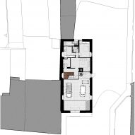 Casa Altinho by António Costa Lima Arquitectos Ground Floor Plan