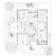 Casa Ombra by Cadaval and Sola Morales Belvedere Floor Plan