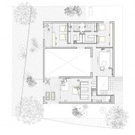 Casa Ombra by Cadaval and Sola Morales First Floor Plan