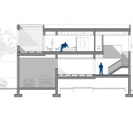 Casa Ombra by Cadaval and Sola Morales Section