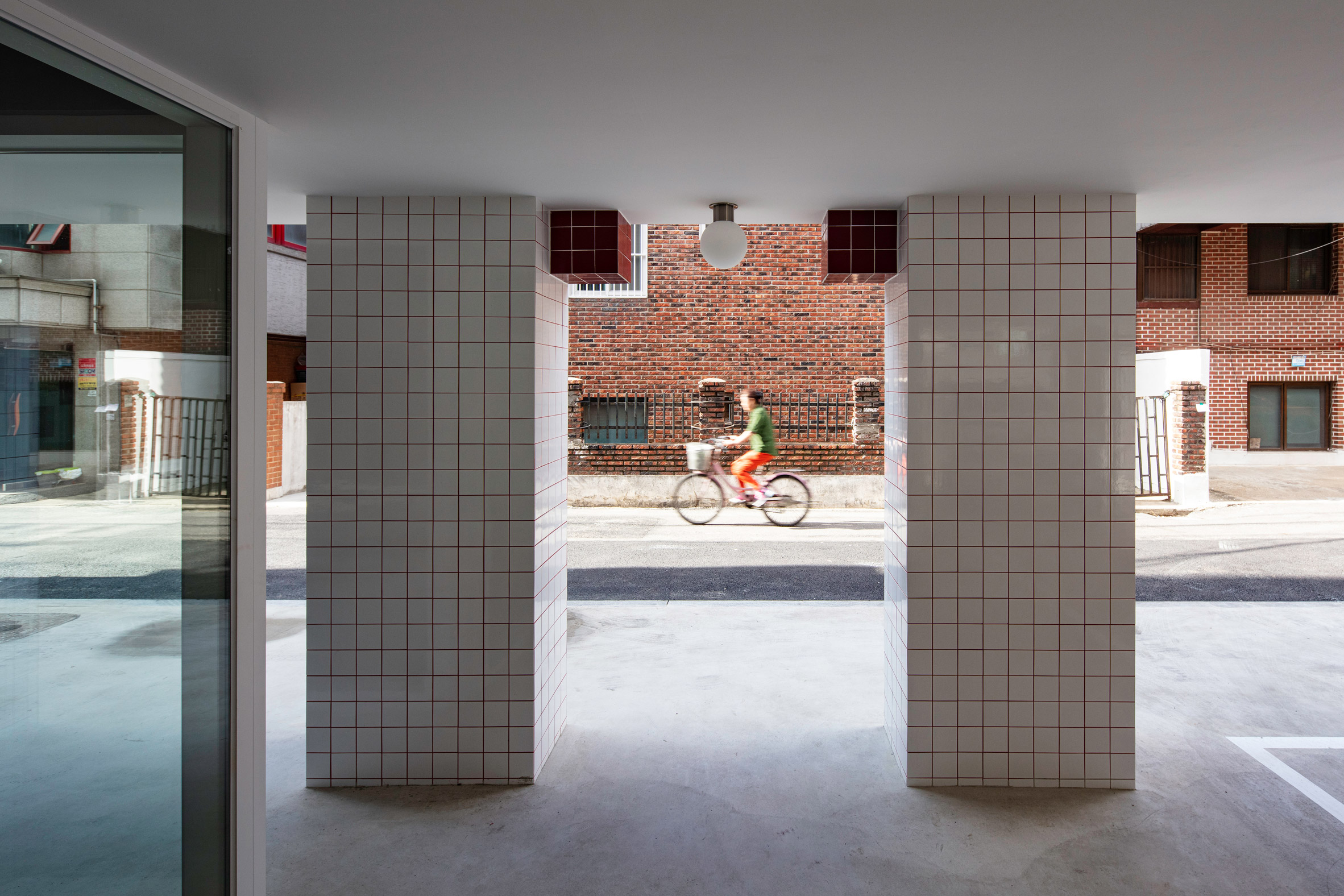 Aoa Architects Clads Minecraft Themed Apartments With Pixel Like Tiles