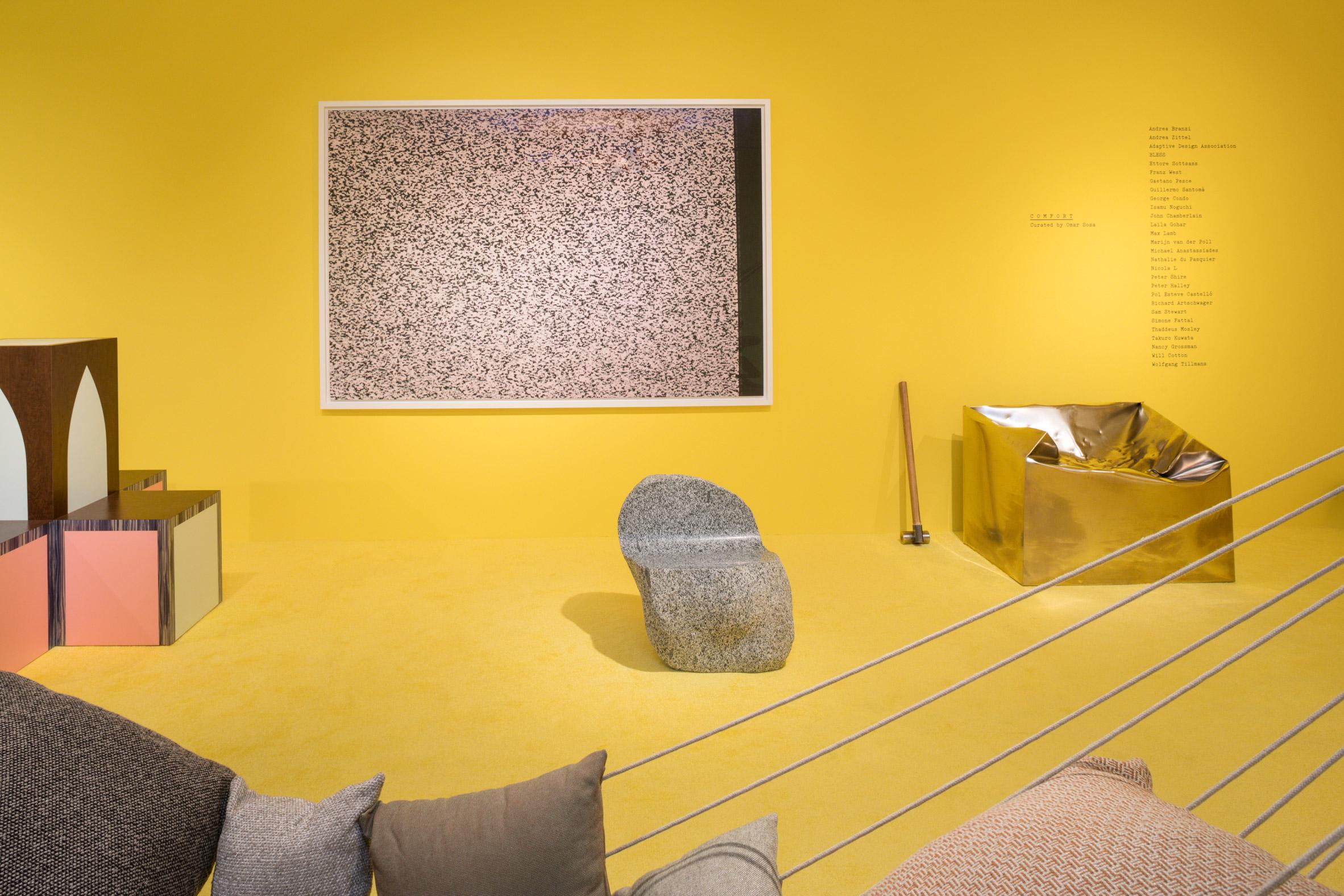Comfort by Omar Sosa at Friedman Benda