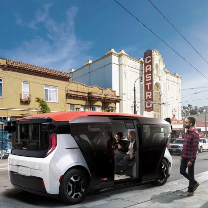 Cruise unveils its driverless Origin car for shared ownership