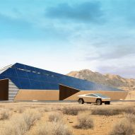 Cyberhouse designed for Cybertruck-driving apocalypse survivors