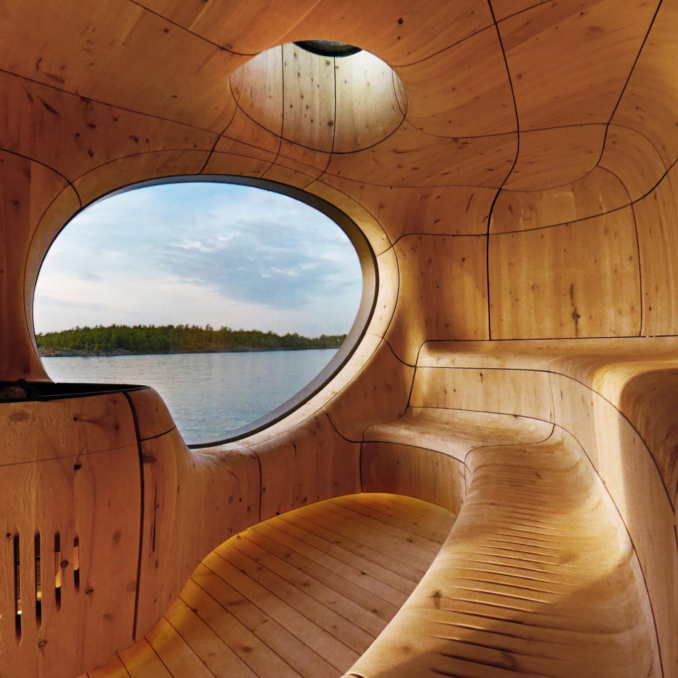 Dezeen sauna top 10