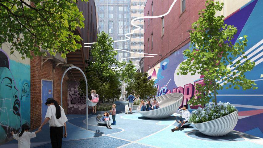 Downtown Brooklyn Public Realm by BIG