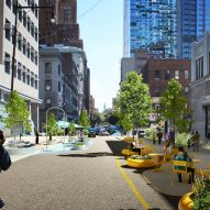 Downtown Brooklyn Public Realm by BIG